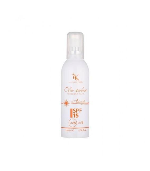 Olio Solare Spray Protezione Corpo SPF 15 150 ml - ALkemilla