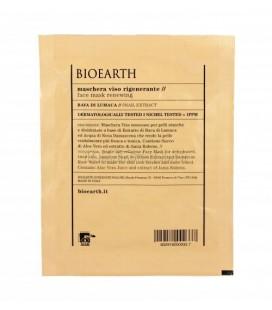 Maschera Viso in Tessuto Rigenerante Bava di Lumaca - 1 Monouso 15 ml - Bioearth