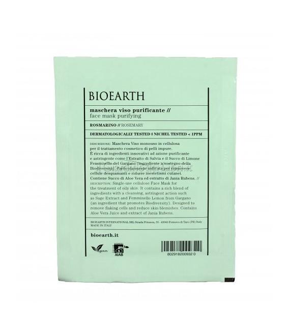 Maschera Viso Rigenerante Bava di Lumaca - 1 Monouso 15 ml - Bioearth