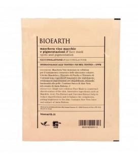 Maschera in Tessuto Viso Macchie e Pigmentazioni - 1 Monouso 15 ml - Bioearth
