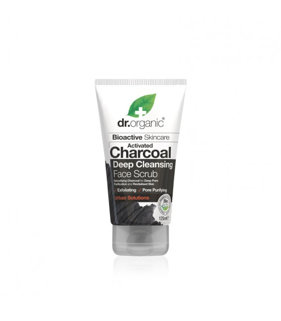 Scrub al Carbone Organic Charcoal 125 ml - Dr Organic
