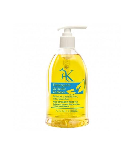 Bagno doccia Detergente Delicato Bio Tè Bianco 500 ml - Alkemilla