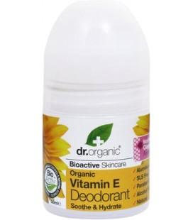 Deodorante alla Vitamina E - 50 ml - Dr Organic