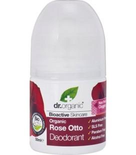 Deodorante alla Rosa - 50 ml - Dr Organic