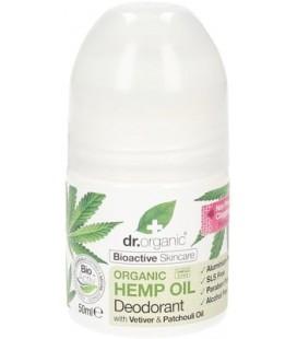 Deodorante all'Olio di Canapa - 50 ml - Dr Organic
