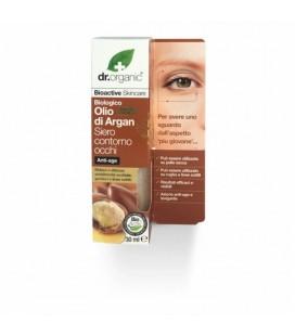 Siero contorno occhi all'Olio di Argan del Marocco - 30 ml - Dr Organic