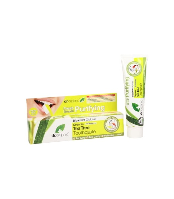 Dentifricio al Tea Tree- Tea Tree ToothPaste 100 ml - Dr Organic