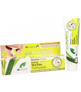 Dentifricio Biologico al Tea Tree - Tea Tree ToothPaste 100 ml - Dr Organic