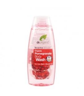 Docciaschiuma al Melograno - Pomegranate Body Wash 250 ml - Dr Organic
