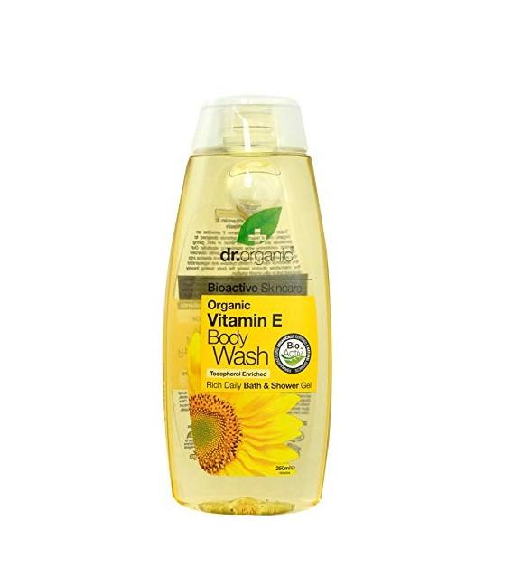 Docciaschiuma al Miele di Manuka - Manuka Honey Body Wash 250 ml - Dr Organic