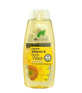 Docciaschiuma alla Vitamina E 250 ml - Dr Organic