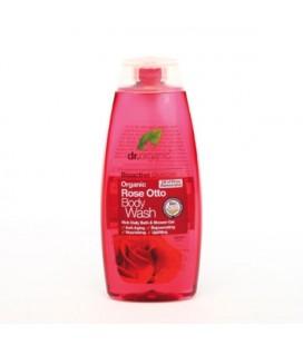 Docciaschiuma alla Rosa - Rose Otto Body Wash 250 ml - Dr Organic