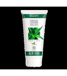 Crema Mani e Corpo Aloe Vera - 200 ml - Bioearth