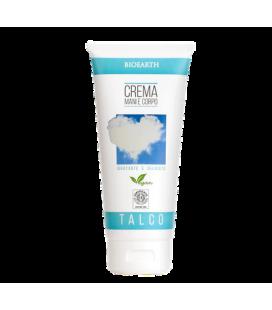 Crema Mani e Corpo Talco - 200 ml - Bioearth