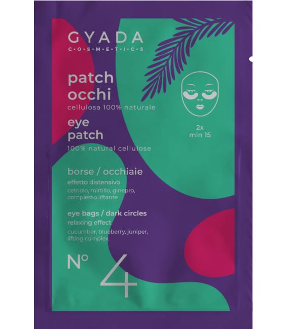 Patch Occhi Borse - Occhiaie n.4 - 5ml - Gyada Cosmetics