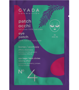 Patch Occhi Borse - Occhiaie n.4 - 5ml - Gyada Cosmetics