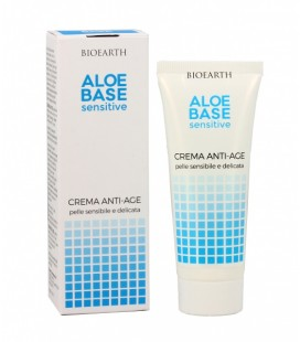 Aloebase Sensitive Crema Viso Anti-age 50 ml - Bioearth