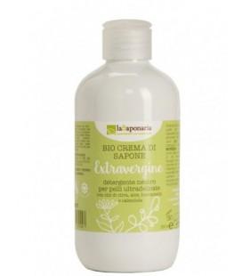Crema di sapone Extravergine 250 ml - La Saponaria