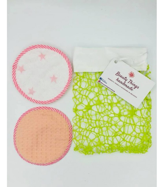 Pad struccante 2 in 1 - Beauty Things Handmade