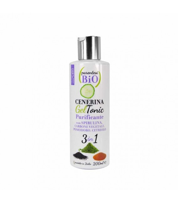 Gel - Tonic Micellare Purificante Cenerina 200 ml - Parentesi Bio