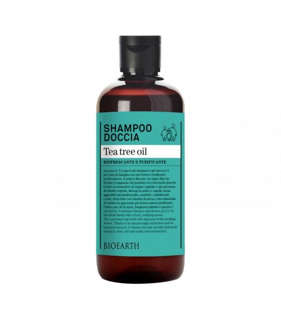 Shampo-doccia Tea Tree Oil - Bioearth
