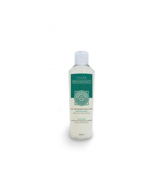 Gel Detergente Viso Micellare Scrub - 150 ml - Gyada Cosmetics