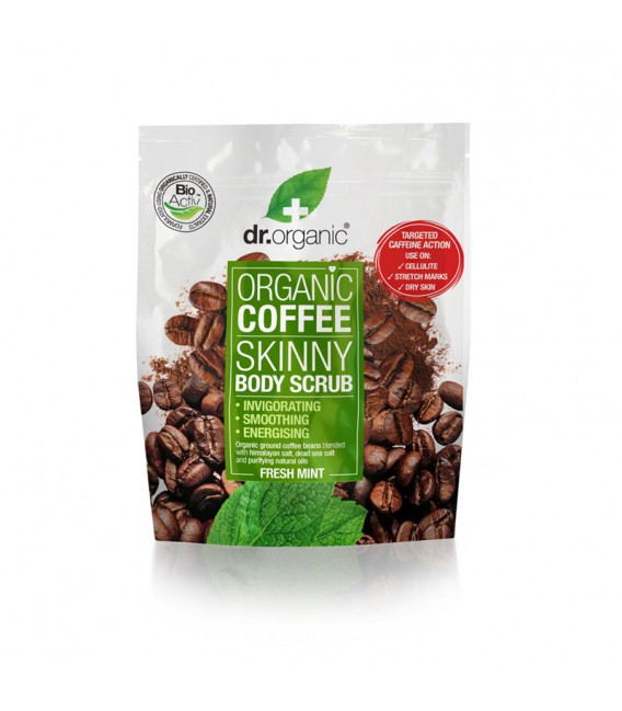Scrub Snellente al Caffè 200gr - Dr Organic