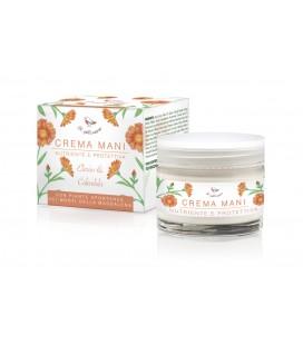 Crema Mani Nutriente e Protettiva Elicriso e Calendula - 50 ml - Il Pettirosso Cosmetici