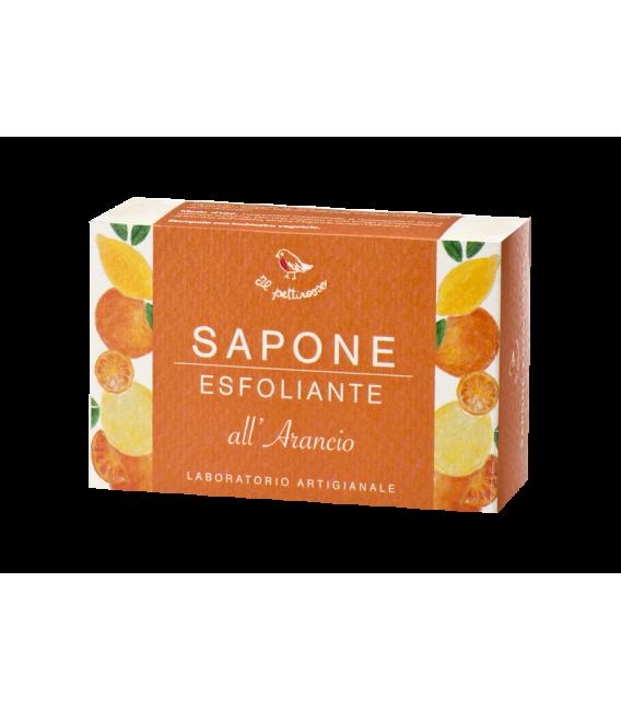 Sapone Esfoliante all'Arancio - 100 gr - Il Pettirosso Cosmetici