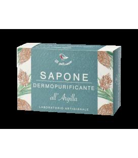 Sapone Dermopurificante all'Agilla Verde - 100 gr - Il Pettirosso Cosmetici