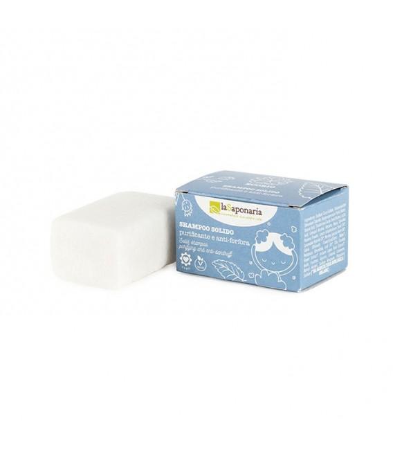 Shampoo Solido Purificante 50 gr - La Saponaria