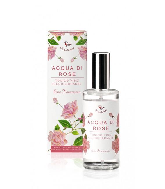 Tonico di Acqua di Rose - 100 ml - Il Pettirosso Cosmetici