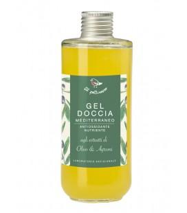 Gel Doccia Mediterraneo Olivo e Agrumi -200 ml - Il Pettirosso