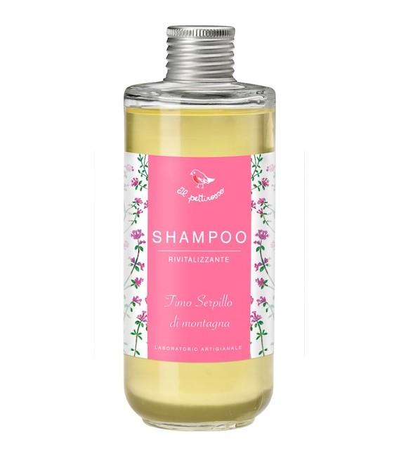 Shampoo Rivitalizzante - 200 ml - Il Pettirosso