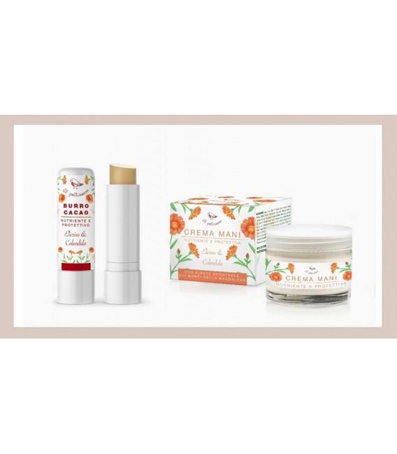 BOX Cura Mani Labbra - Pettirosso Cosmetici