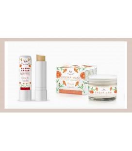 BOX Protezione Mani Labbra - Pettirosso Cosmetici