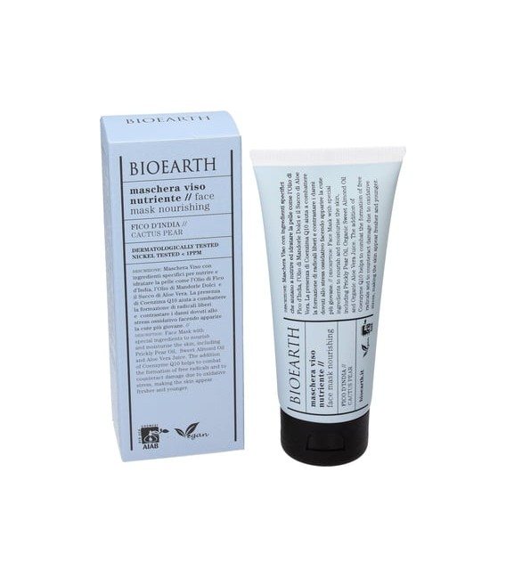 Maschera Viso Nutriente Fico D'India - 100 ml - Bioearth