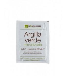 Argilla Verde Micronizzata - 100 Gr - La Saponaria
