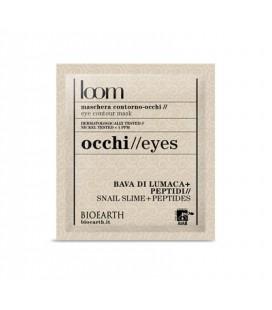 Maschera Contorno Occhi Bava di lumaca + Peptidi 5ml - Bioearth