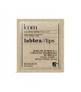 Maschera Labbra Bava di lumaca + Cellule staminali di mela 3 ml - Bioearth