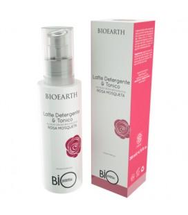 Latte detergente e tonico alla Rosa Mosqueta - Bioearth