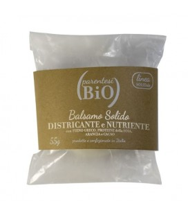 Balsamo Solido NUTRIENTE bianco - 55gr- Parentesi Bio