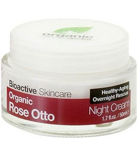 Crema Notte all'Essenza di Rosa - Rose Day Cream 50 ml - Dr Organic