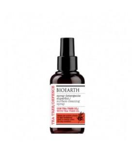Spray Igienizzante Superfici con Alcol e Tea Tree Oil -100 ml - Bioearth