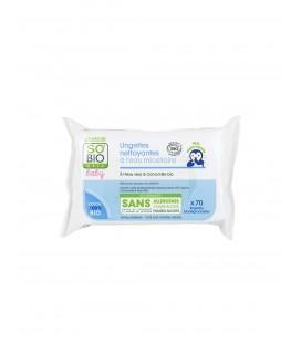 Salviette Detergenti Delicate 70 pz - Sp'Bio Etic