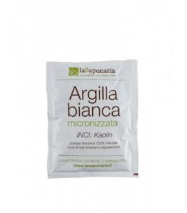 Argilla Bianca - 100 Gr - La Saponaria
