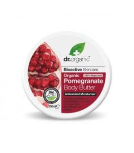 Burro Corpo Nutriente al Melograno - Body Butter 200 ml - Dr Organic