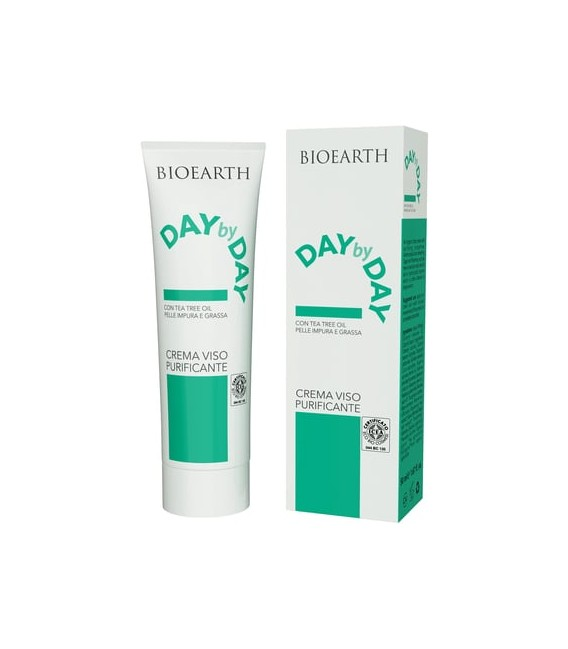 Day by Day Crema Viso Purificante - Bioearth