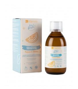 Collutorio Protettivo Arancia e Xilitolo - 250 ml - La Saponaria