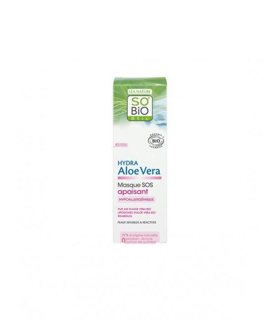 Crema Viso Leggera Hydra Aloe Vera 24h - 50 ml - So Bio' Etic